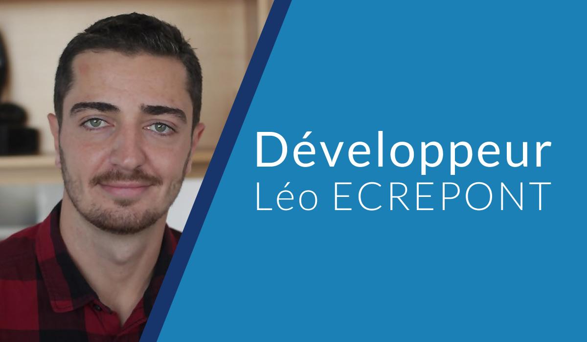 développeur Léo ECREPONT