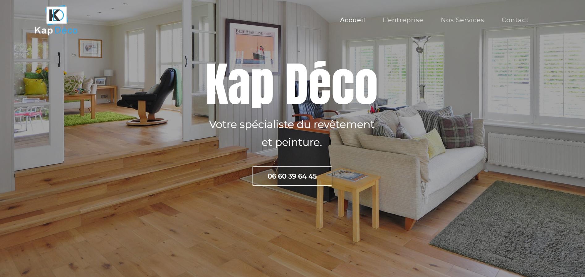 Site web Kap deco